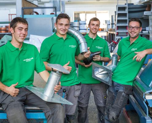 Auszubildende der Schenk GmbH